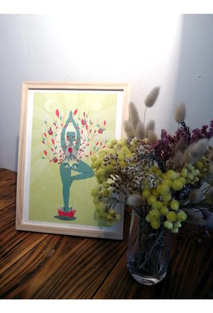 Yoga c'est blooming