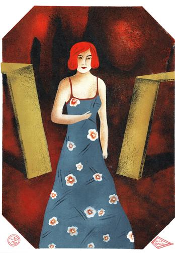 Femme Art déco