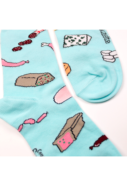 Chaussettes Chacuterie Fromage