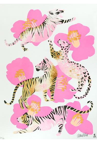 Tigres et Camélias